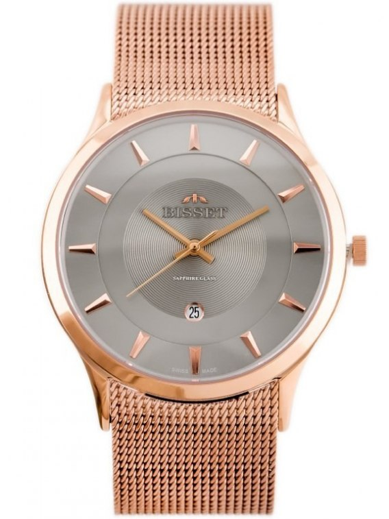 BISSET BSDE47 (zb051e) rose gold/gray